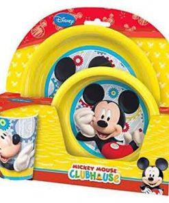 Vajilla bebe Mickey Mouse
