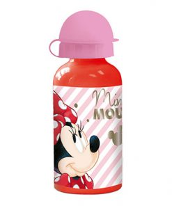 Botella roja liquidos minnie