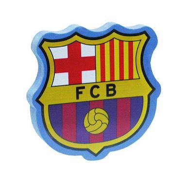 Goma gigante Barça